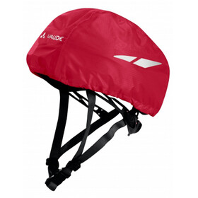 VAUDE Helmet Raincover Børn, indian red